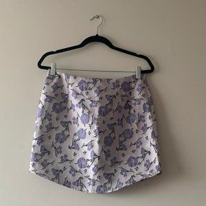 NWT Missguided Floral Mini Skirt